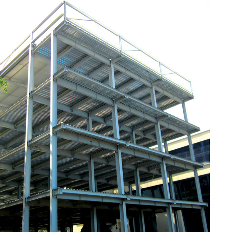 3D Modular Prefabricated Steel Structure Residential Building (5)