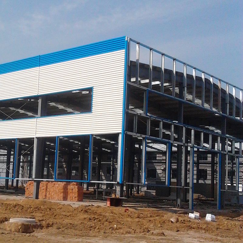 OBM High Density Pre-Engineered Building PEB Structure (1)